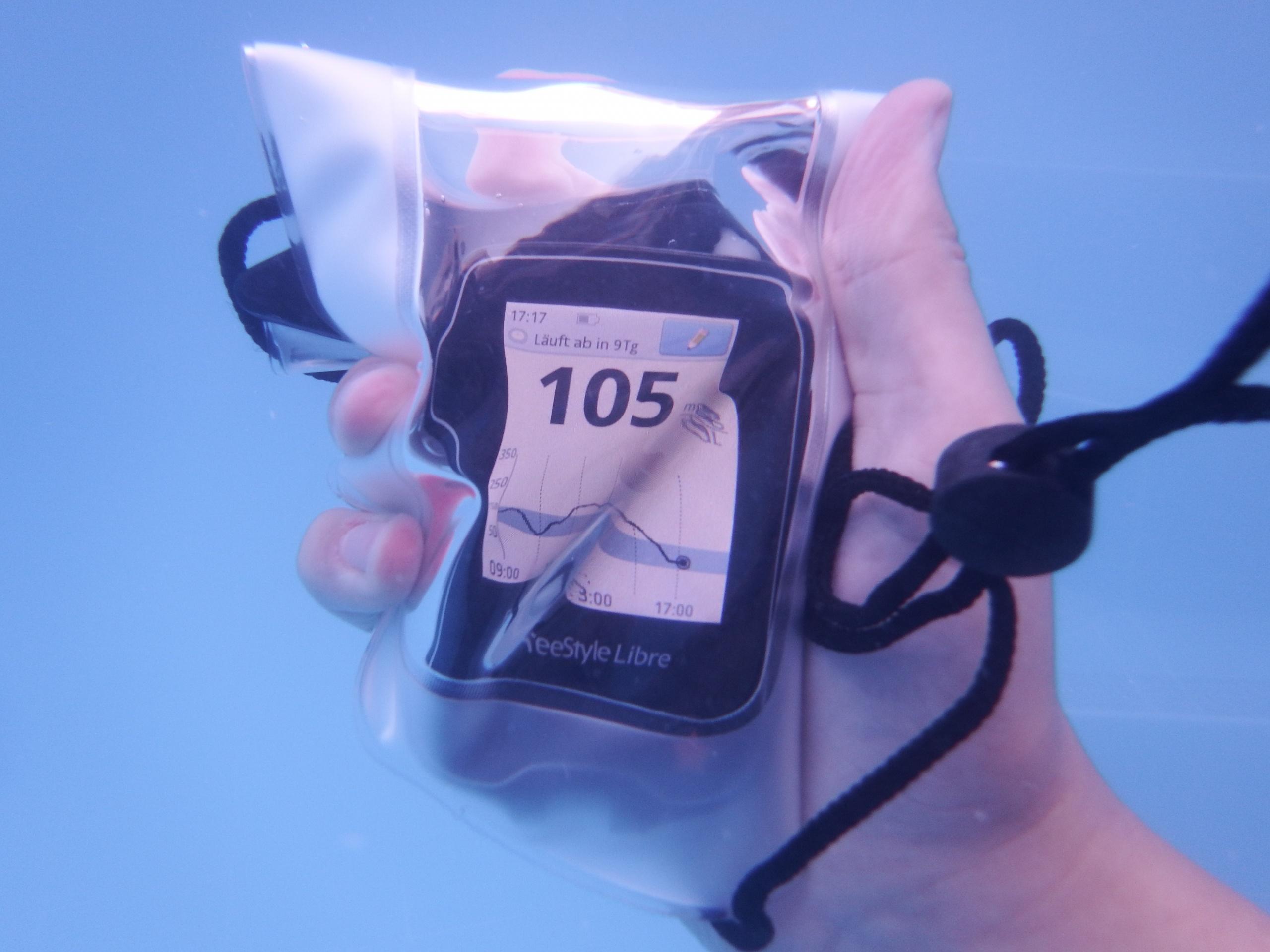 Freestyle Libre unter Wasser