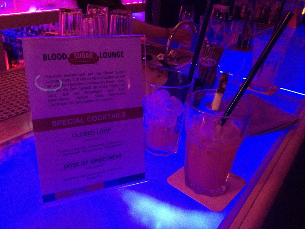 Diabetes Events Blood Sugar Lounge Party