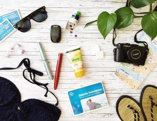 Reisen mit Diabetes Tipps Packliste pepmeup.org