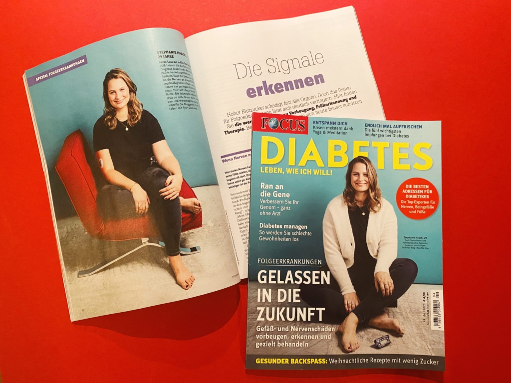 Titelstory des FOCUS Diabetes